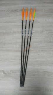 Šípy GoldTip Warrior 4ks spine 600 - použité