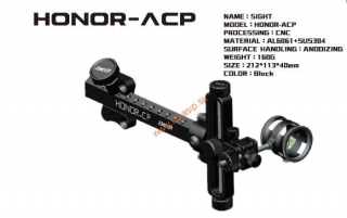 "Mieridlá Decut Honor ACP 10/32"" RH compound bez pinu"