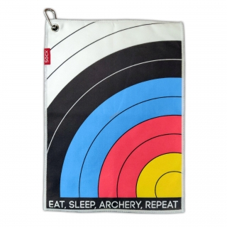 Utierka na tulec Socx Eat Sleep Archery 36 x 26 cm